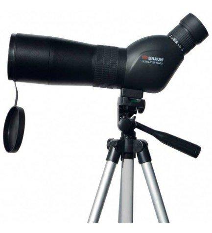 Braun 20130 - Telescopio monocular, 15-45x60