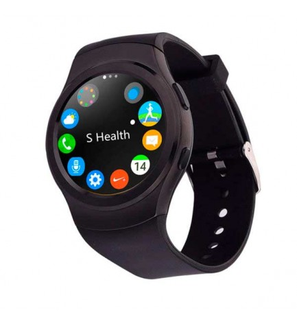 Swiss+Smart Vernier - Smartwatch, SIM, color Negro