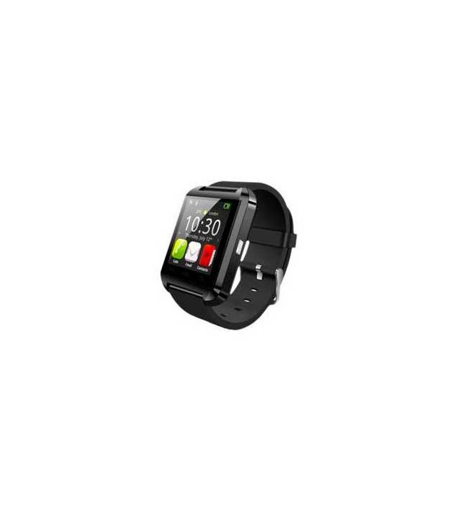 Swiss+Smart Kloten - Smartwatch, conectividad Bluetooth, podómetro, color Negro