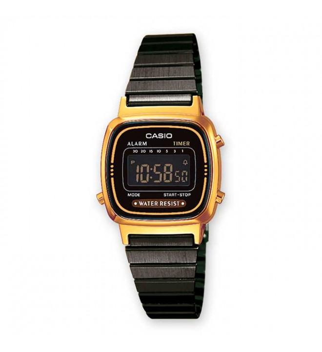 Negro MetalColor Casio Dorado La RelojMaterial 670wegb nvm0N8w