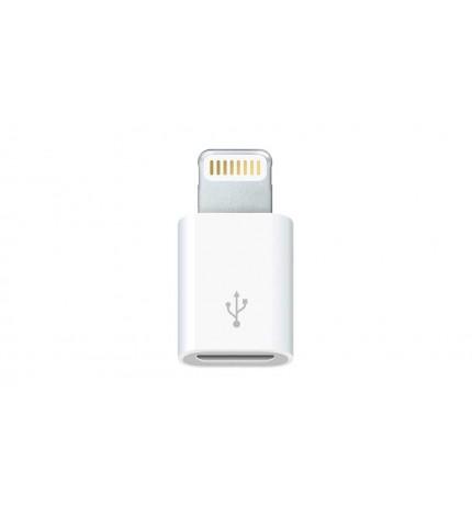 Apple Adapter - Adaptador, Lightning a Micro USB