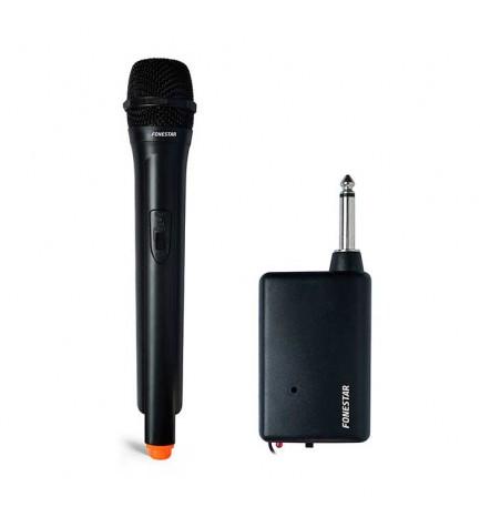 Fonestar IK-163 - Micrófono inalámbrico, receptor incorporado