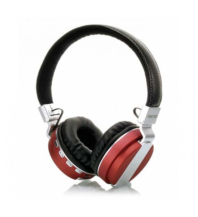 Fonestar Bluephones-61R - Auriculares bluetooth, color Rojo