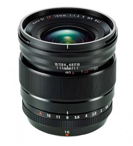 Fujifilm XF16mm F1.4 R WR - Objetivo