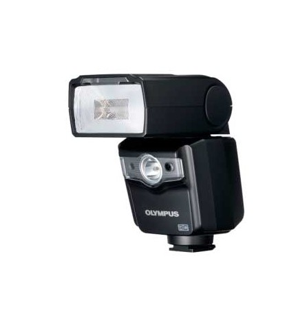 Olympus FL-600R - Flash, LED, color Negro