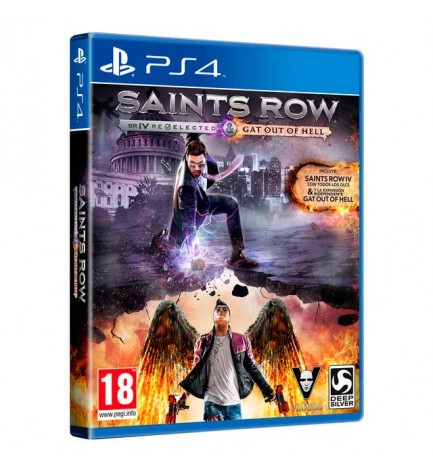 Sony Saints Row IV: Re-elected & Gat Out of Hell - Videojuego, Playstation 4