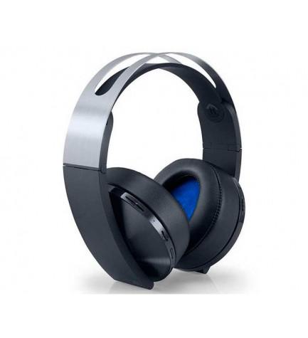 Sony Auriculares - Auriculares, diseñados para Playstation 4, color Plata