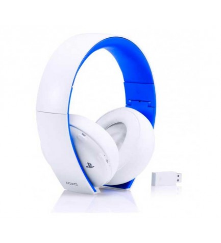 Sony HEADSET 2.0 - Auricular Inalámbrico, diseñado para Playstation 3 Playstation 4 y PSVita, color Blanco