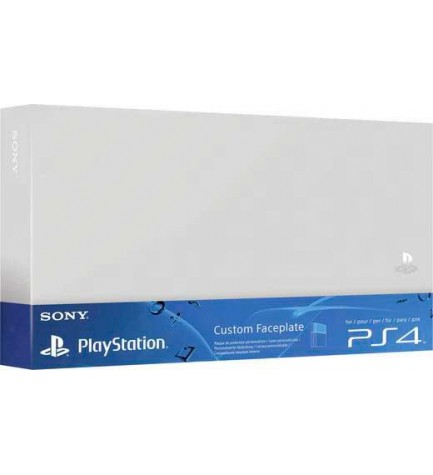 Sony Ps4 Cover - Carcasa, diseñada para Playstation 4, color Plata