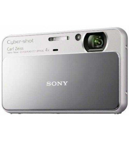 Sony DSC-T110 - Cámara compacta, color Plata