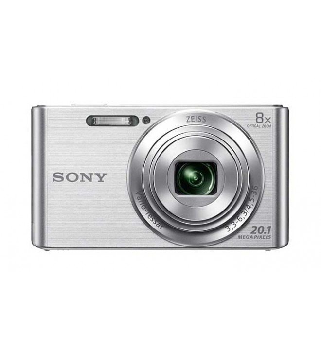 Sony DSC-W830S - Cámara compacta, color Plata
