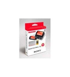 Sony MSA-16GN2 - Tarjeta de Memoria Micro, diseñada para PSP, capacidad 16 GB, incluye adaptador