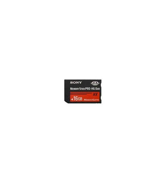 Sony MSH-X16A-PSP - Tarjeta de Memoria PRO, capacidad 16 GB, HG, incluye adaptador