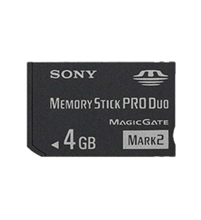 Sony MSM-T4GN-PSP - Tarjeta de Memoria PRO, capacidad 4 GB, Duo