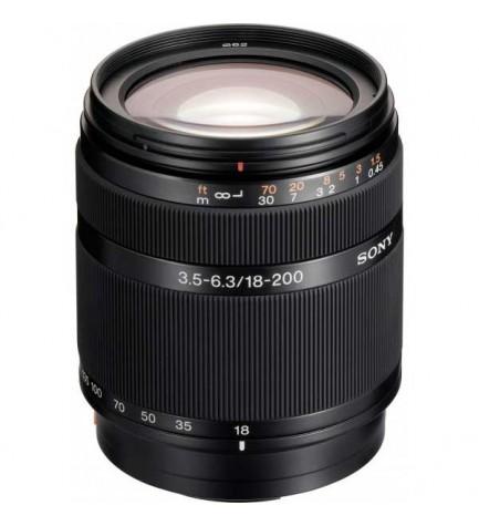 Sony DT 18-200mm F3.5-6.3 - Objetivo