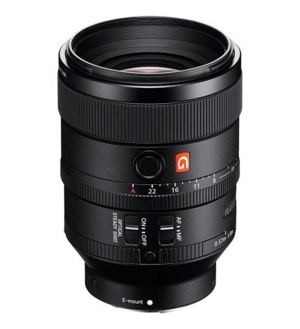 Sony SEL FE100mm F2.8 STF GM - Objetivo, color Negro