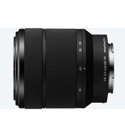 Sony SEL FE28-70mm F3.5-5.6 OSS - Objetivo, Negro