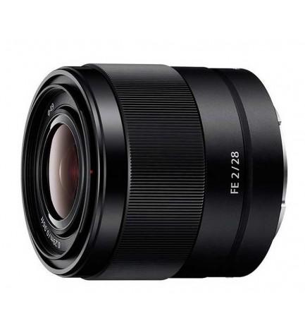 Sony SEL 28mm F2 - Objetivo, color Negro