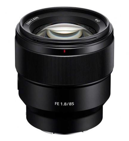 Sony SEL FE85mm F1.8 - Objetivo, color Negro