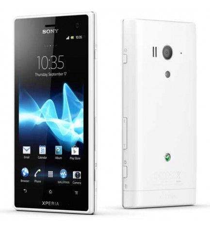 Sony Xperia Acro S LT-26W - Smartphone, color Blanco
