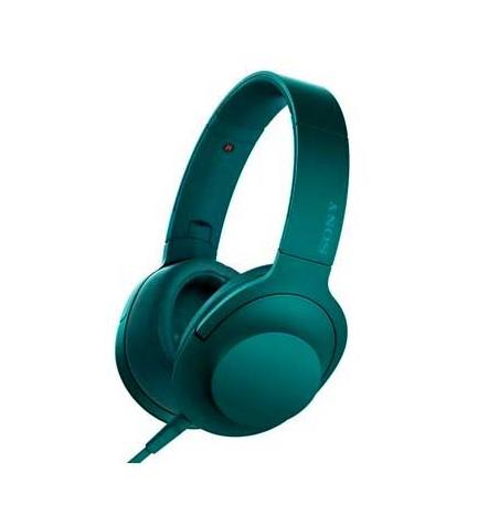Sony MDR-1000AAP - Auriculares diadema, micrófono incorporado, color Azul