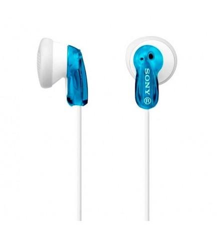 Sony MDR-E9LPL - Auriculares botón, color Azul