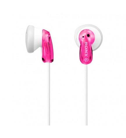 Sony MDR-E9LPP - Auriculares botón, color Rosa