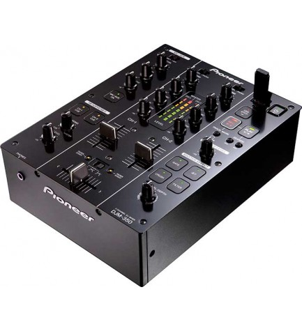 Pioneer DJM-350 - Mesa de mezclas, 2 canales