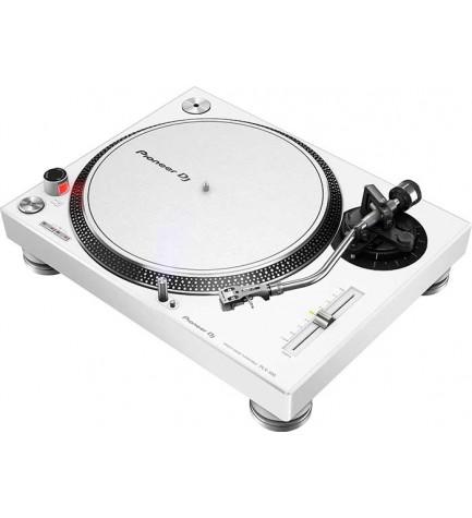 Pioneer PLX-500-W - Tocadiscos, color Blanco
