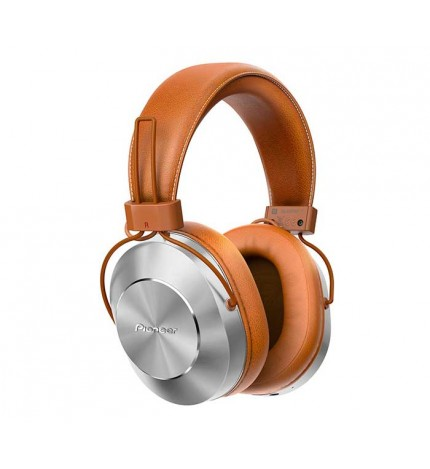 Pioneer SE-MS7BT-T - Auriculares bluetooth, micrófono incorporado, color Marrón