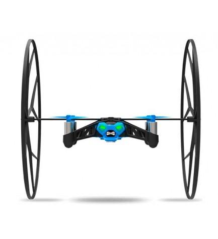 Parrot PF723001AD Rolling Spider - Dron, mini, cuadricóptero, color Azul