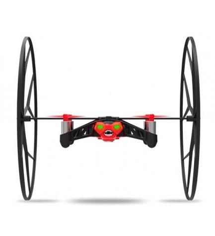 Parrot PF723002AD Rolling Spider - Dron, mini, cuadricóptero, color rojo
