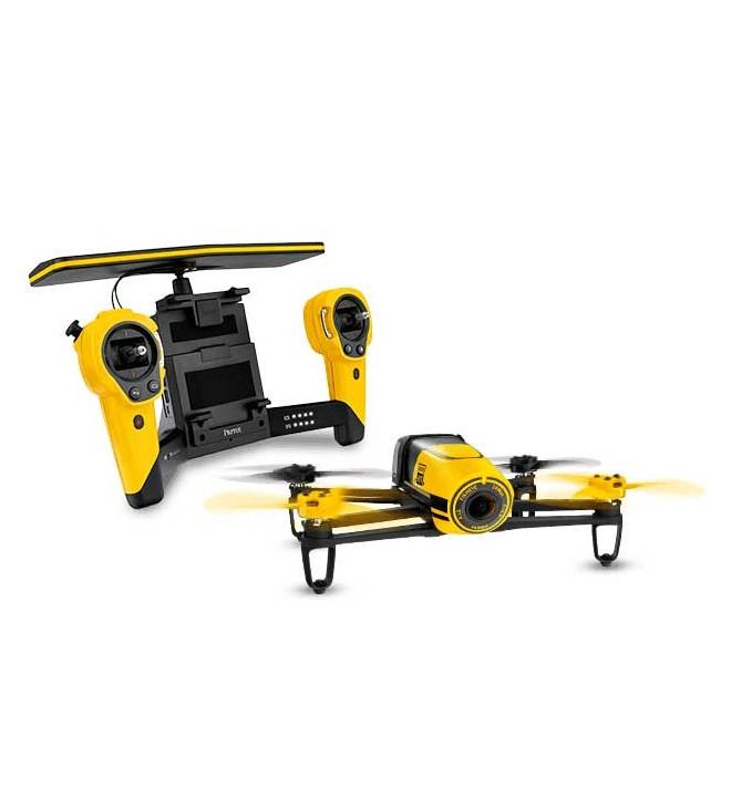 Parrot PF725102AC Bebop Skycontroller - Dron, cuadricóptero, incluye Skycontroller, color Amarillo