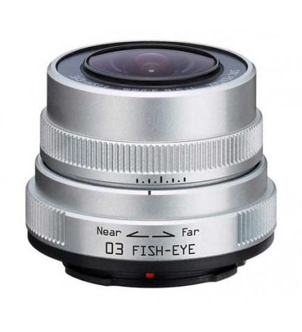 Pentax 03 Fish Eye 3.2mm - Objetivo, efecto ojo de pez
