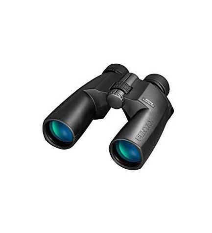 Pentax 10x50 SP - Prismáticos, incluye funda, color Negro
