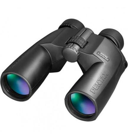 Pentax 12x50 SP - Prismáticos, incluye funda, color Negro