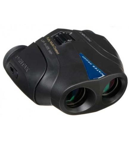 Pentax 8x25 UP - Prismáticos, incluye funda, color Negro