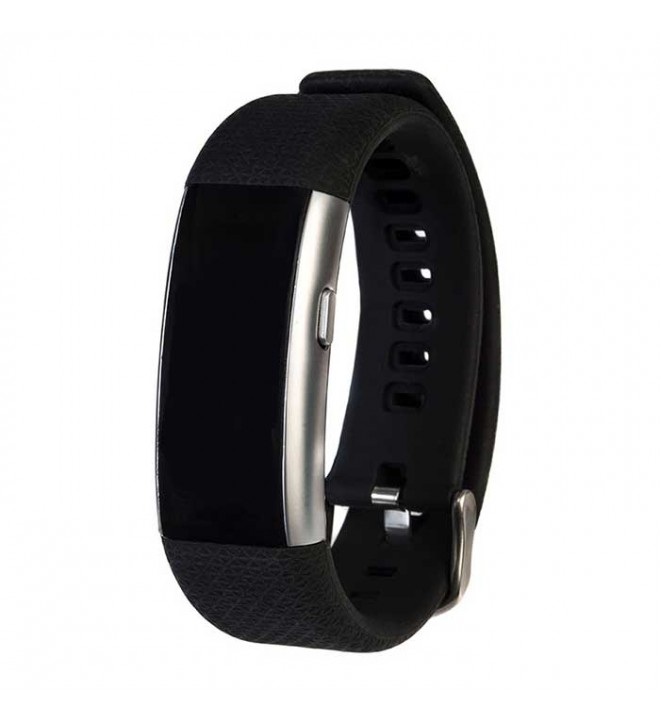 Swiss+Go Nyon Plus - Smartband, bluetooth, podómetro, color Negro