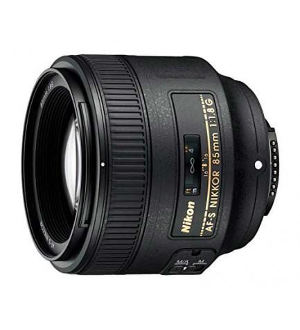 Nikon AF-S85mm F1.8G - Objetivo