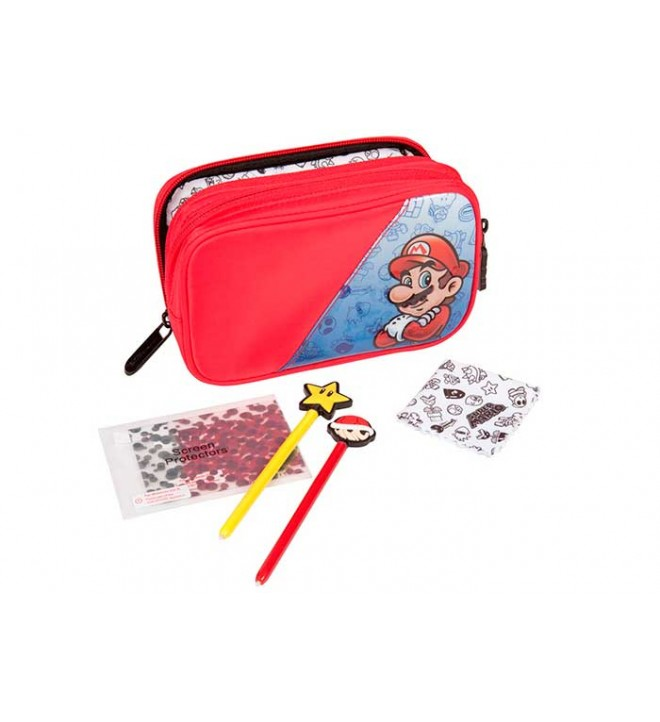 Nintendo DS Essentials Kit - Estuche 5 en 1, Super Mario