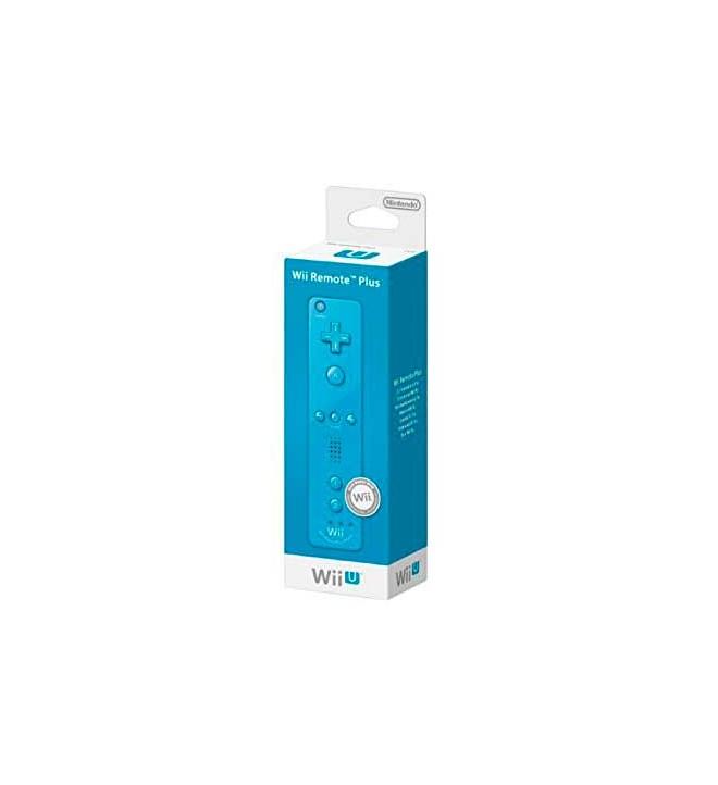 Nintendo Controller - Mando, diseñado para Nintendo Wii U, color Azul