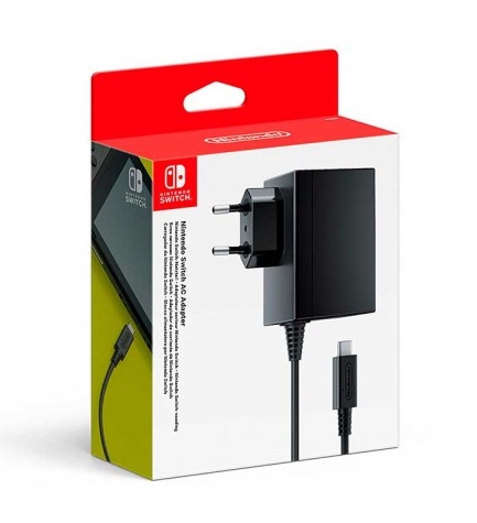 Nintendo Adapter - Adaptador de corriente, Nintendo Switch