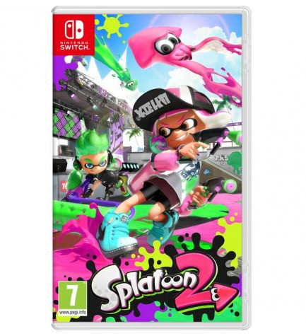 Splatoon 2 - Videojuego, Nintendo Switch