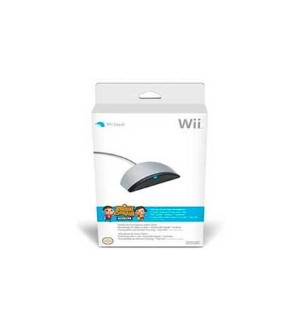 Nintendo Wii Speak - Micrófono, diseñado para Nintendo Wii