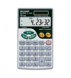 Sharp EL-344R - Calculadora electrónica