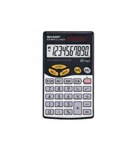 Sharp EL-480SR - Calculadora electrónica