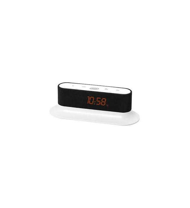 Trevi RC-830 - Radio despertador, color Blanco