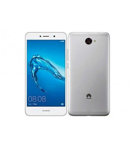 Huawei Y7 - Smartphone, pantalla 5.5 pulgadas, memoria interna 16 GB, 2 GB RAM, 4G, color Plata Blanco