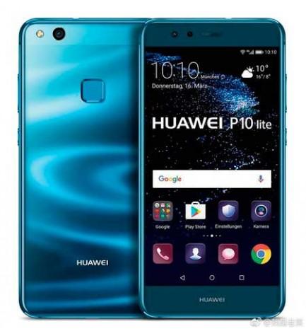 Huawei P10 LITE - Smartphone, pantalla 5.2 pulgadas, memoria interna 32GB, 3 GB RAM, color Azul