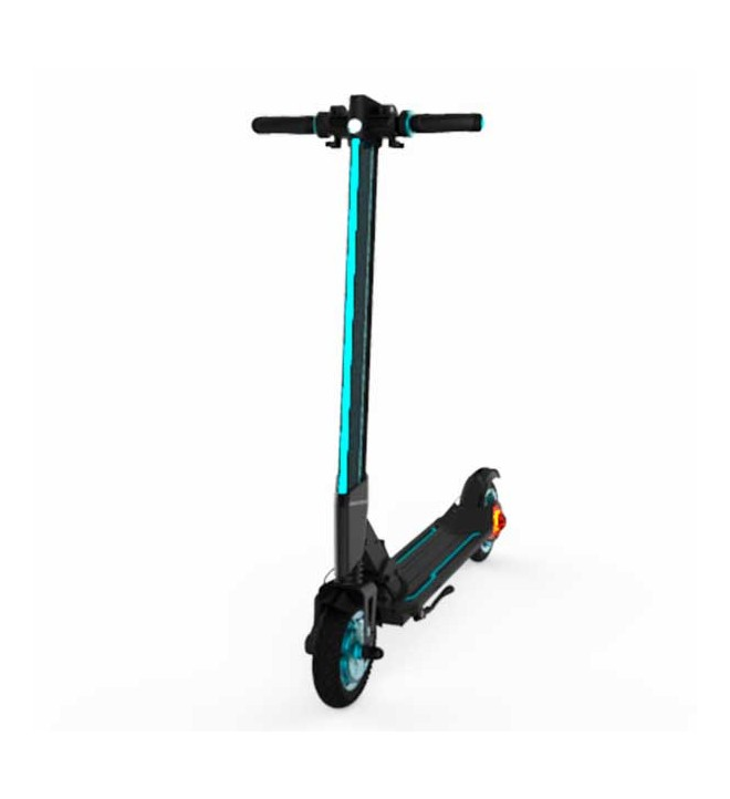 Inmotion L8F - Scooter, velocidad hasta 30Km hora, color Negro